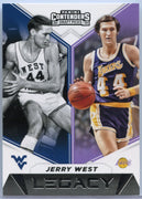 Jerry West Legacy basketball card #3 2019 Contenders Draft Picks