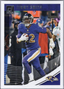 Jimmy Smith 2018 Panini Donruss #21 Ravens card