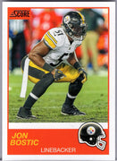 Jon Bostic 2019 Score Football No. 120