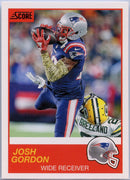 Josh Gordon 2019 Score Football #150 card