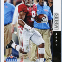 Josh Jacobs RC 2019 Score Football DFT-7 Draft card