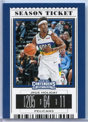 Jrue Holiday Season Ticket Card No. 23 2019 Panini Contenders Draft Picks