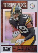 JuJu Smith-Schuster 2019 Score Football T-19 Throwbacks card