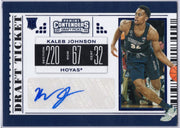 Kaleb Johnson autograph rookie card #104 Panini Contenders Draft Picks 2019