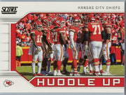 2019 Score Football Huddle Up Kansas City Chiefs