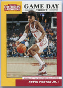 Kevin Porter Jr. Rookie Card 2019 Contenders Draft Picks Game Day Ticket #16