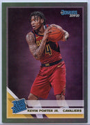 Kevin Porter Jr Rated Rookie Card Green Parallel #228 Cleveland Cavaliers 2019-20 Panini Donruss Basketball