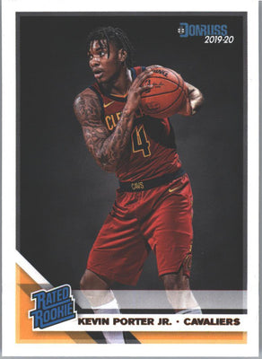 Kevin Porter Jr Rated Rookie Card #228 2019-20 Donruss Basketball Cleveland Cavs