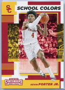 Kevin Porter Jr Rookie Card 2019 Contenders Draft Picks School Colors No. 16 USC