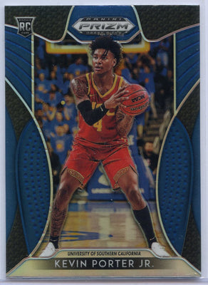 Blue 2019 Prizm Draft Picks Basketball #94 Kevin Porter Jr Rookie Card Trojans