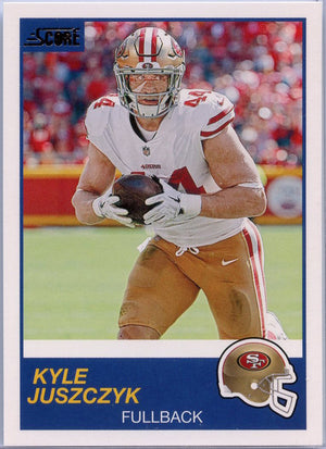 Kyle Juszczyk 2019 Score Football #311 card