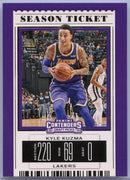 Kyle Kuzma Season Ticket card No. 33