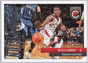 Kyle Lowry 2015-16 Panini Complete court vision #9 raptors card