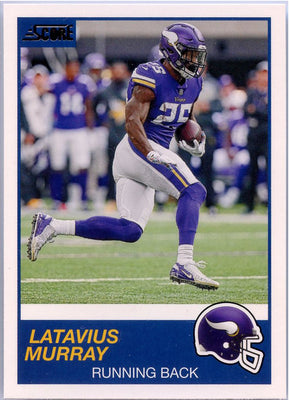Latavius Murray 2019 Score Football #234 card