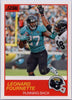 Leonard Fournette 2019 Score Football #63 card