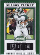Le'Veon Bell 2019 Panini Contenders Draft Picks #63 Michigan State football card