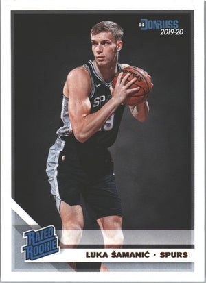 Luka Samanic Rated Rookie #218 Card 2019-20 Donruss Basketball
