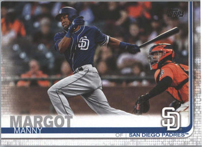 Manny Margot card #170 Padres outfielder 2019 Topps Series 1 Baseball