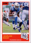Marlon Mack 2019 Score Football #53 Colts