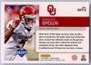 2019 Score Football Draft DFT-2 Marquise Brown rookie card