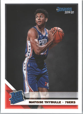 Matisse Thybulle Rated Rookie #219 Card 2019-20 Donruss Basketball