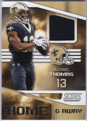 Michael Thomas Relic Patch Card H-3 2019 Score Football
