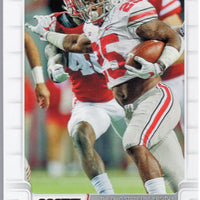 Mike Weber RC 2019 score football #407 Ohio State - Dallas Cowboys