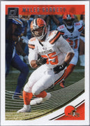 Myles Garrett 2018 Panini Donruss Football #72 Browns card