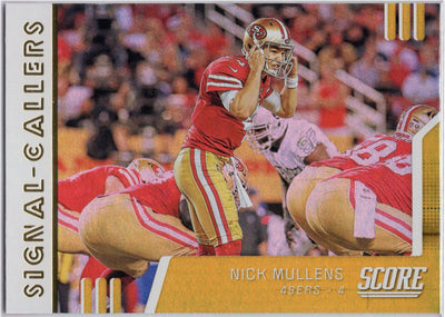 Nick Mullens Signal Callers 2019 Score Football SC-3 card
