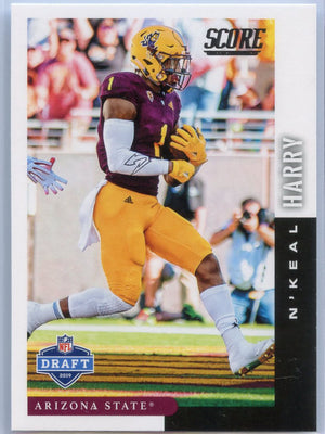 N'Keal Harry rookie card 2019 Score Draft DFT-6