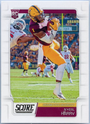 N'Keal Harry RC 2019 Score Football #349 Arizona State - New England Patriots