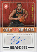 Omari Spellman Rookie Auto 2018-19 NBA Hoops Great Significance