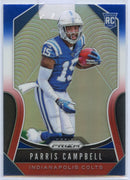 Parris Campbell RC #347 Red White Blue 2019 Prizm Football Colts WR