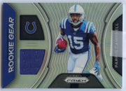 Parris Campbell Rookie Gear #RG-PC Card 2019 Prizm Football Colts wr
