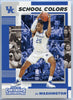 PJ Washington School Colors rookie card #15 Contenders Draft Picks 2019