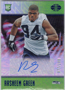 Rasheem Green Auto RC 2018 Panini Illusions Football 182 Seattle Seahawks
