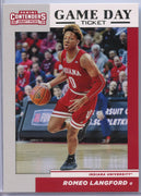 Romeo Langford rookie card #9 Game Day Ticket 2019 Contenders Draft Picks