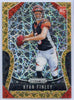 Ryan Finley Rookie Card #306 Gold Laser 2019 Panini Prizm Football Bengals QB