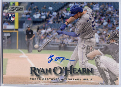 Ryan O'Hearn Autograph Rookie Card SCA-RO 2019 TOPPS Stadium Club Royals