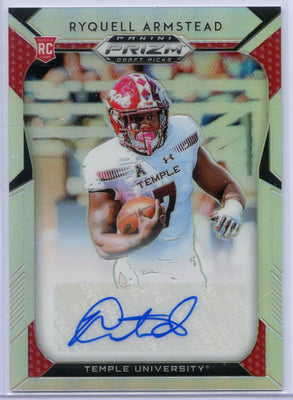 Ryquell Armstead autograph rookie card 2019 Prizm Draft Picks No. 283