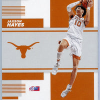 2019 Contenders Draft Picks Jaxson Hayes Rookie Card School Colors No. 10 Texas
