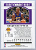 2019 Panini Contenders Draft Picks Season Ticket No. 47 Shaquille O'Neal LA Lakers