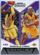 Shaquille O'Neal Legacy card 2019 Panini Contenders Draft Picks