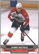 2013-14 Upper Deck Series Two Hockey Shawn Matthias card #361 Florida Panthers