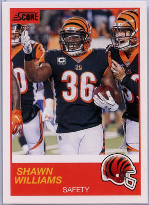 Shawn Williams 2019 Score Football #100 card