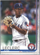 Jose Leclerc 2019 Topps Series 1 Baseball card #174 Texas Rangers