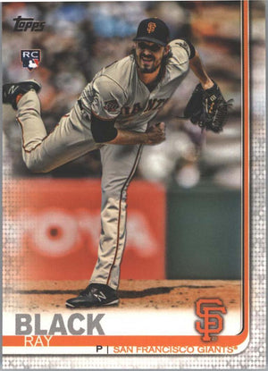 2019 Topps Series 1 Baseball Ray Black Rookie Card #333 San Francisco Giants