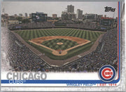 Wrigley Field Chicago Cubs card #197 Topps Series 1 Baseball 2019