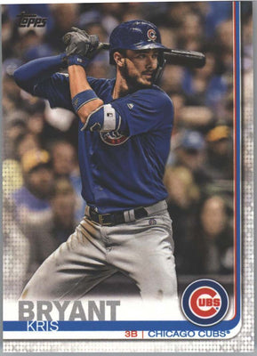 2019 Topps Series 1 baseball card #210 Kris Bryant Chicago Cubs