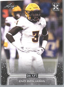 2020 Leaf Draft Football Eno Benjamin Rookie Card #31 Arizona State RB